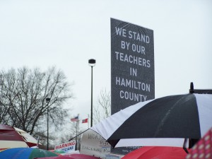 Hamilton County Residents Support Teachers.