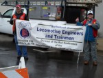 Locomotive Engineers and Trainmen Support Teachers