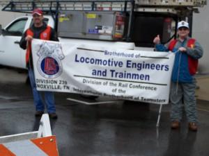 Locomotive Engineers and Trainmen Support Teachers