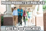 Knox HS Students No Vouchers